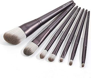 Make-upborstels, 7-delige professionele make-upborstel Premium synthetische make-upborstelset voor foundationpoeder Blendi...