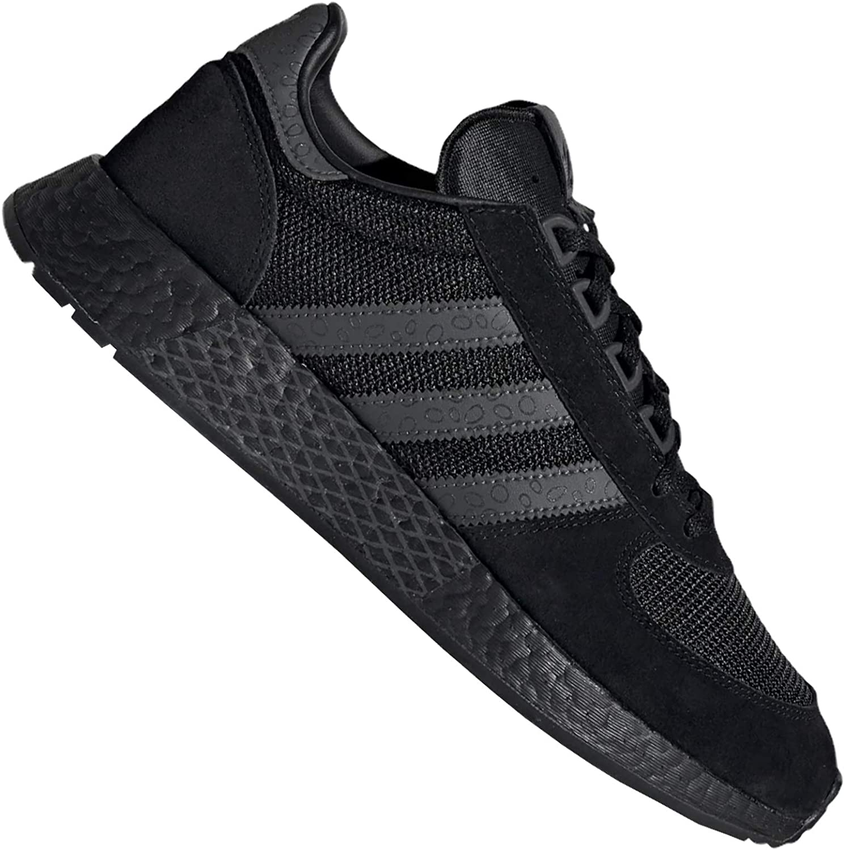 adidas Originals Marathon Tech EF0321 Boost - Zapatillas deportivas para hombre, color negro y gris