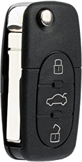 KeylessOption Keyless Entry Remote Control Car Key Fob Replacement for HLO1J0959753F