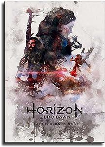 Horizon Zero Dawn anime posters HD Canvas Print Modern Home Decor Art Wall (Canvas rolls,12x18inch)
