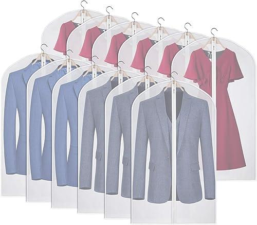 Home Dress Clothes Garment Suit Cover Case Dustproof Storage Bags Protector T