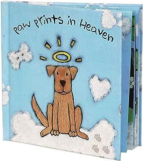 Paw Prints In Heaven Hardcover Pet Memorial Children's Book