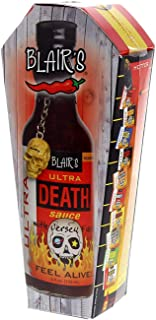 blair's ultra death sauce with jersey fury scoville