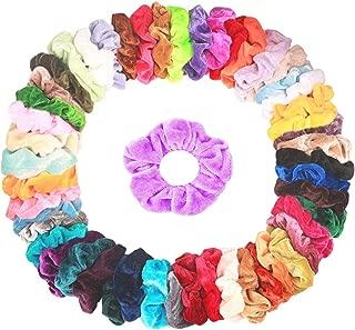 Hair Scrunchies Velvet Elastic Hair Bands Bobbles Scrunchy Ties Ropes Scrunchie Accessories Ponytail Holder for Women or Girls