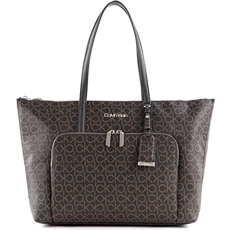Calvin Klein CK Must Shopper LG Brown Mono
