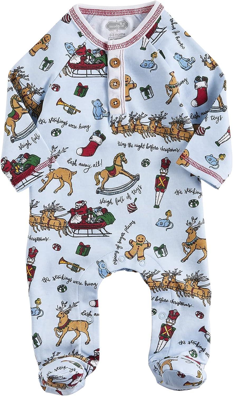 Mud Pie Baby Boys' Night Before Christmas Sleeper