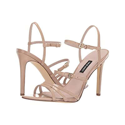 Nine West Gilficco Strappy Sandals (Barely Nude) Women