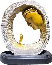 China Natural Taihang Thuja Wood Carved Worship Buddha Statue