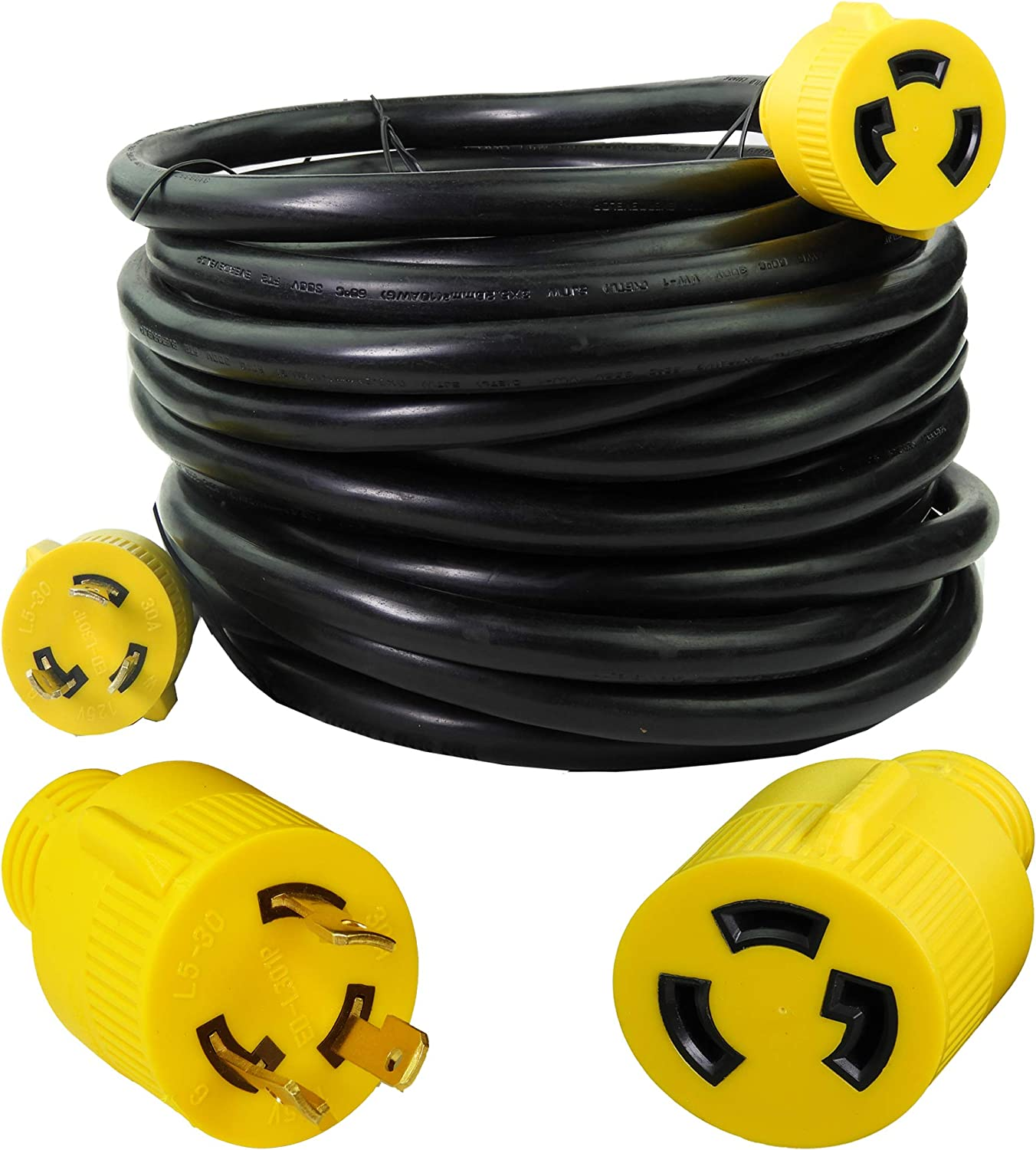 Leisure Cords Sales of SALE items from new works 3-Prong 50 Foot 30 Gauge Dedication Cord He Amp Generator 10
