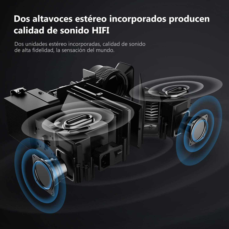 Proyector 4500 Lúmenes ABOX: Amazon.es: Electrónica