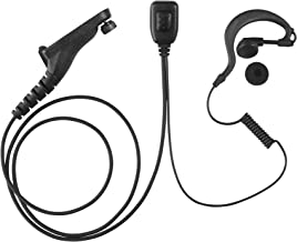 Maxtop AEH1003-M9 G-Sharp Earhanger Earphone for Motorola MOTOTRBO XPR-6550 XPR-7350 XPR-7550 APX-6000