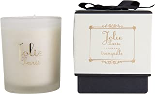 Jolie Candles, Sustainable Luxury Scented Candle, tranquille (lavender) 6 Ounce