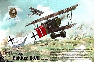 Roden 1:48 WWI Fikker D.VII Biplane ALB Late Plastic Model Kit #424