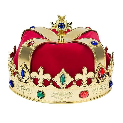 Kangaroo Regal King Crown Red and Gold 8cc77d5837bc