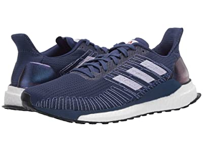 adidas Running Solar Boost 19 (Tech Indigo/Purple Tint/Solar Red) Women