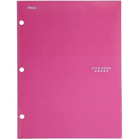 72893 Five Star 4 Pocket Folder White 2 Pocket Folder Plus 2 Additional Pockets