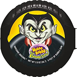 Hubba Bubba Bubble Tape Monsters Candy, 2.0 Ounce (Pack of 12)