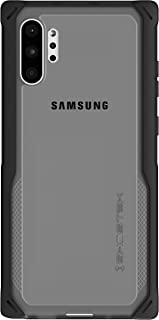 Ghostek Cloak Designed for Galaxy Note 10 Plus Case / Note10+ 5G Case Clear Bumper Tough Military Grade Phone Cover Wireless Charging Compatible for Samsung Note 10+ / Note10 Plus 5G (2019) - (Black)
