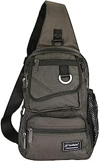 Vanlison Sling Bag Chest Shoulder Backpack Crossbody Multipurpose Daypack for Men Women