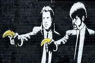 Banksy Pulp Bananas Graffiti Art Cool Wall Decor Art Print Poster 23.5x16.5