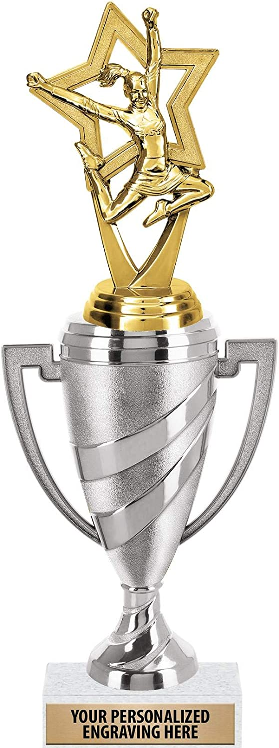 Tampa Mall Crown Spasm price Awards Cheerleading Trophy 12