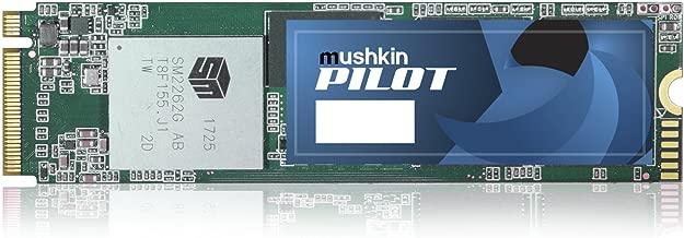Mushkin Pilot - 1TB PCIe NVMe - M.2 (2280) Internal Solid State Drive (SSD) - Gen3 x4-3D TLC - (MKNSSDPL1TB-D8), 1TB