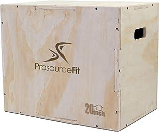 Prosource 3合1木制 plyometric JUMP BOX 适用于 crossfit Agility 垂直跳跃训练 & plyo workouts