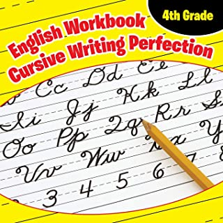 4th Grade English Workbook: Cursive Writing Perfection