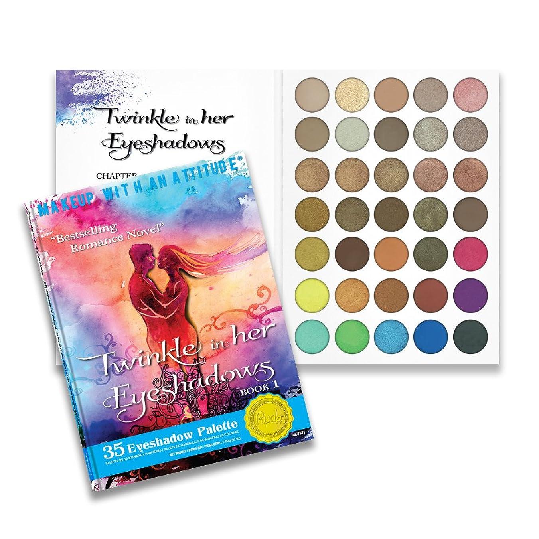 場所オール連隊RUDE Twinkle In Her Eyeshadows 35 Eyeshadow Palette - Book 1 (並行輸入品)