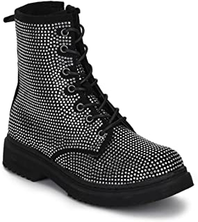 TRUFFLE COLLECTION Women's BUK22 Black Suede Boots