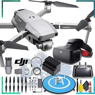 DJI Mavic 2 Pro with Dji Smart Controller + DJI Goggles Racing Edition + Battery to Power Bank Adaptor + Landing Pad + Cleaning Kit