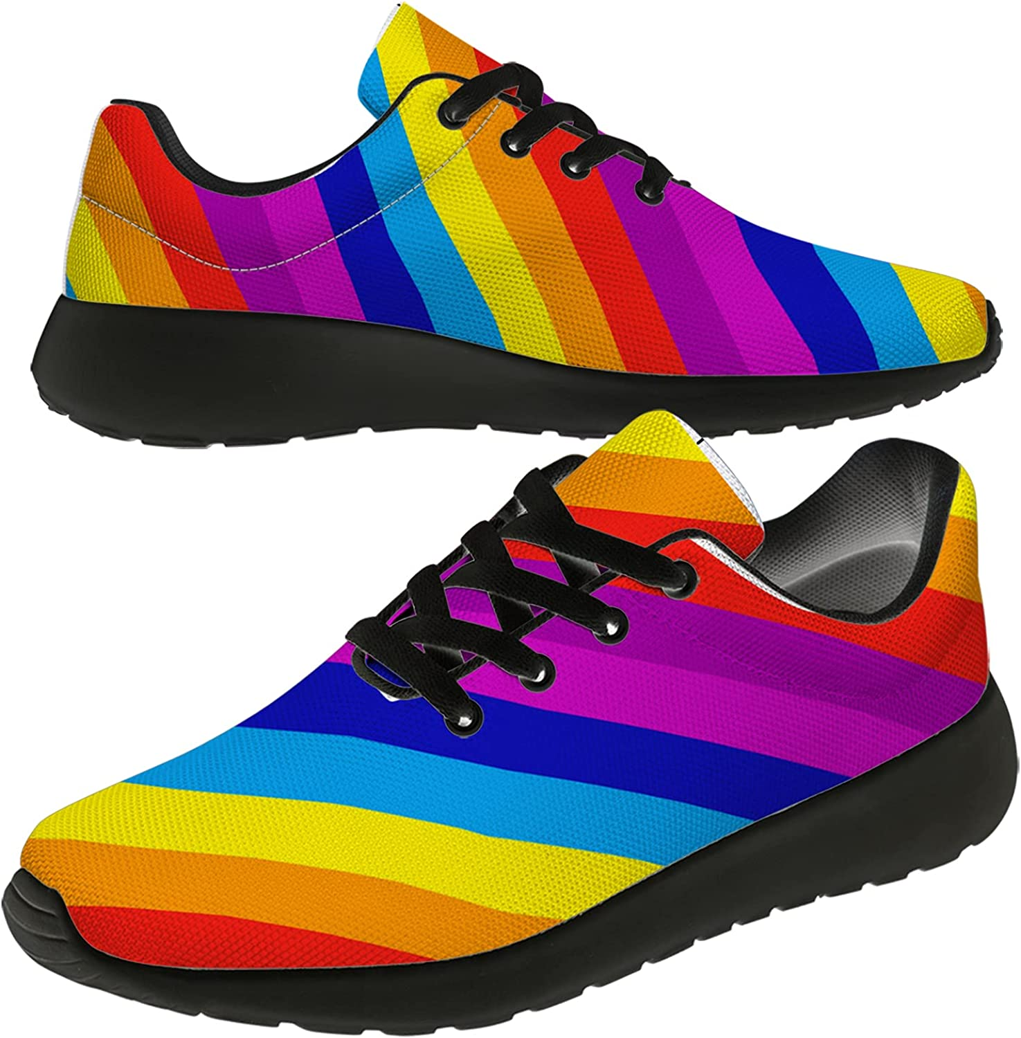 Uminder Women's Men's Don't miss the campaign Running Breatha Sneakers Lightweight Shoes Boston Mall