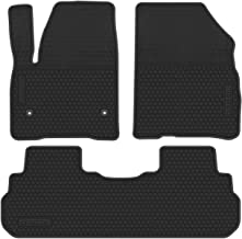 CFMBX1CD9231 Black Coverking Custom Fit Front and Rear Floor Mats for Select Cadillac Seville Models Nylon Carpet