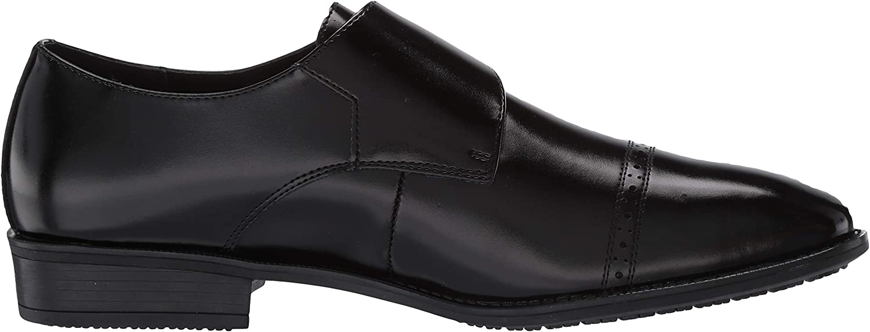 STACY ADAMS Men's Armond Cap Toe Monk Strap Loafer