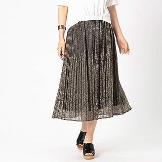 (コムサ イズム) COMME CA ISM レオパードプリント スカート 12-50FL18-109