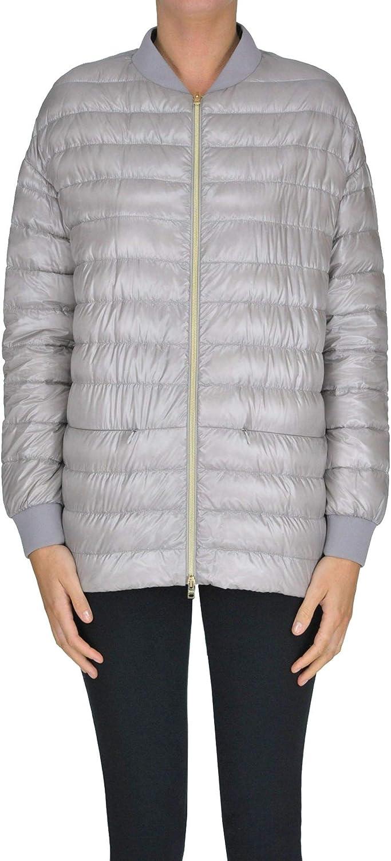 Herno Women's MCGLCSP000005003E Grey Polyester Down Jacket