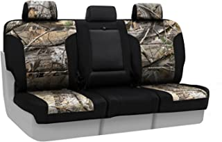 Coverking Front 50/50 Bucket Custom Fit Seat Cover for Select Chevrolet Silverado Models - Neosupreme (Realtree AP Camo with Black Sides)