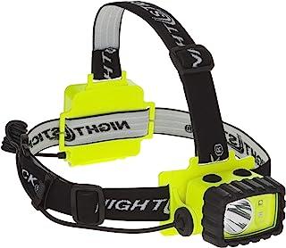 防爆LEDヘッドライト BAYCO XPP5458G NIGHTSTICK Intrinsically Safe Multi-Function Headlamp XPP-5458G 【中心部:白色LED×1灯 サイド部:白色LED+緑色LED:各1灯 / 明るさ130ルーメン / 点灯時間:14時間 / 単3アルカリ電池×3本使用】 XPP 5458G [並行輸入品]