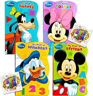 Disney? Mickey Mouse My First Books (Set of 4 Shaped Board Books) by Bendon Publishing