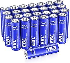 EBL Alkaline AA Batteries (28 Count), 1.5V Double A Long Lasting Alkaline AA Battery