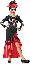 Seasons Direct Halloween Girl's &Women's Day of The Dead Senorita Costume