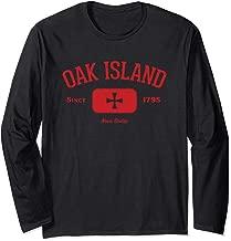 Oak Island Knights Templar Cross Design Long Sleeve Shirt