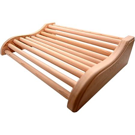 HSE Coussin appuie-tête en cèdre pour sauna (1, cèdre rouge)
