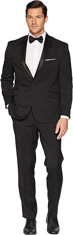 Slim Fit Notch Lapel Tuxedo w/ Stretch