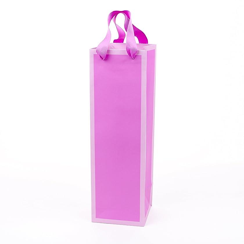 Hallmark Bottle Gift Bag (Light Pink)