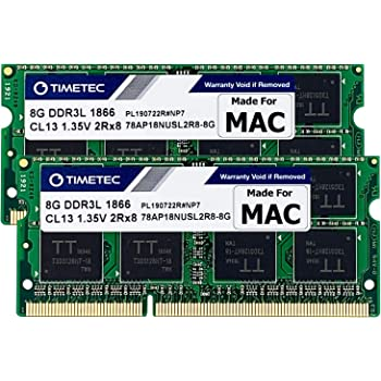 Late 2014 Retina 5K Timetec Hynix IC 32GB KIT Compatible for Apple DDR3L 1600MHz PC3L-12800 SODIMM Memory Upgrade for iMac Mid 2011 4x8GB Late 2013 32GB KIT 4x8GB Mid 2015 Retina 5K Late 2012