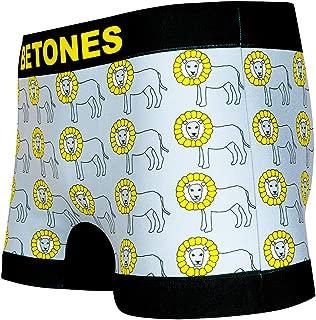 BETONES (ビトーンズ) メンズ ボクサーパンツ TOUMOROKOSISI dwearsステッカー入り ローライズ アンダーウェア 無地 ブランド 男性 下着 誕生日 プレゼント