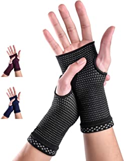Best Medical Grade 20-30 mmHg Compression Glove Wrist Support Sleeves (Pair) for Carpal Tunnel and Wrist Pain Relief Treatment, Everyday Use Wrist Brace for Women and Men Review