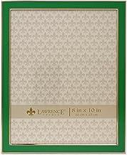 إطارات لورانس معدنية مطلية بالفضة مع إطار صورة المينا 8x10 586580