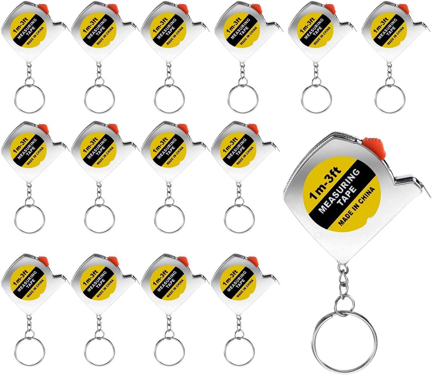 Trounistro 30 Max 68% OFF Pieces Mini Keychains Measure Max 51% OFF Ke Tape